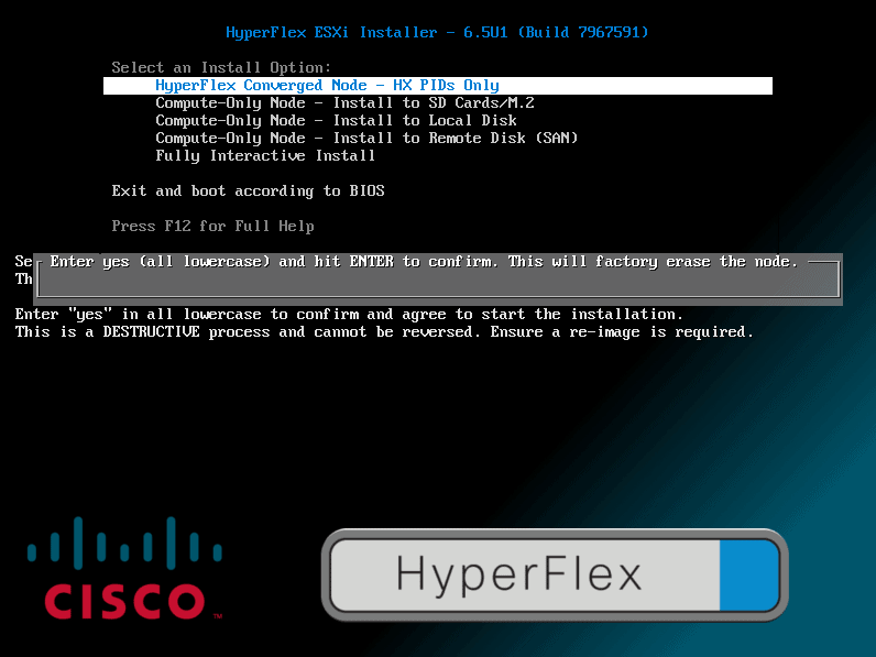 Install ESXi HyperFlex – I Am Joost