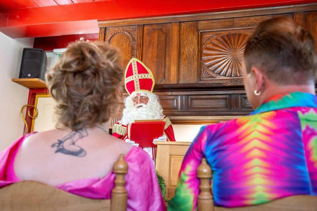 Visit of Sinterklaas