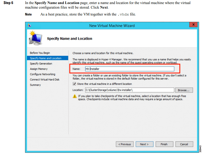 Hyper-V Documentation example