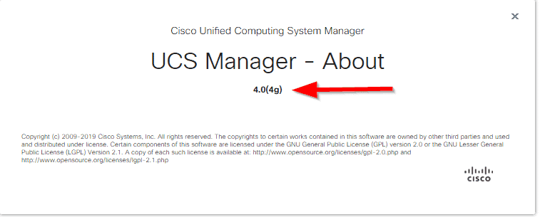 UCS Manager Upgraded