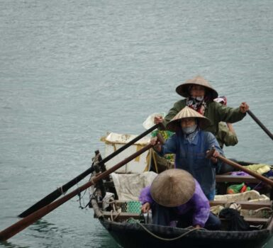 Halong Bay Old Fishers