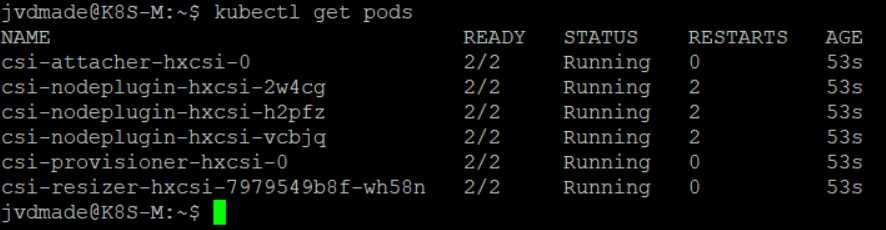 K8S command get pods