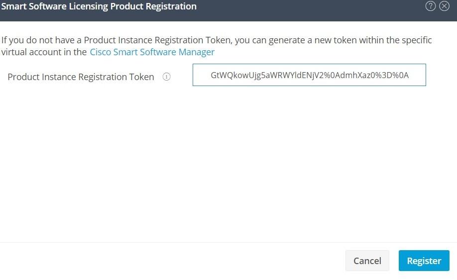 Register Token